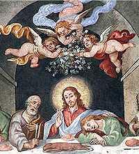 Ultima cena Convento dei francescani di Lequile