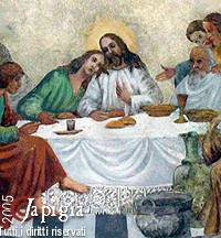 Ultima cena Chiesa matrice di Zollino